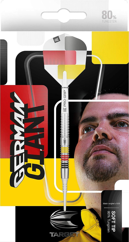 Target Darts Gabriel Clemens 80 19G 21G 80 Percent Tungsten Soft Tip Darts Set