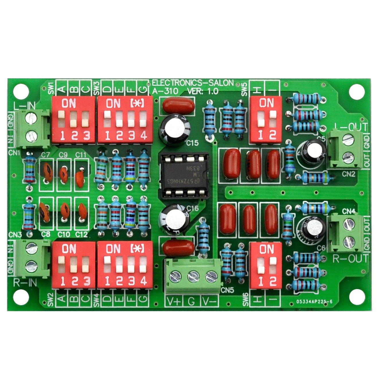 Electronics-Salon Stereo Phono RIAA Preamplifier Module Board, Preamp, MD-A310. by Electronics-Salon