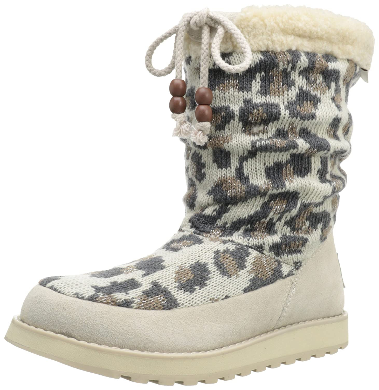 Skechers Keepsakes-Tier Knit Schneestiefel  36 EU|Natural