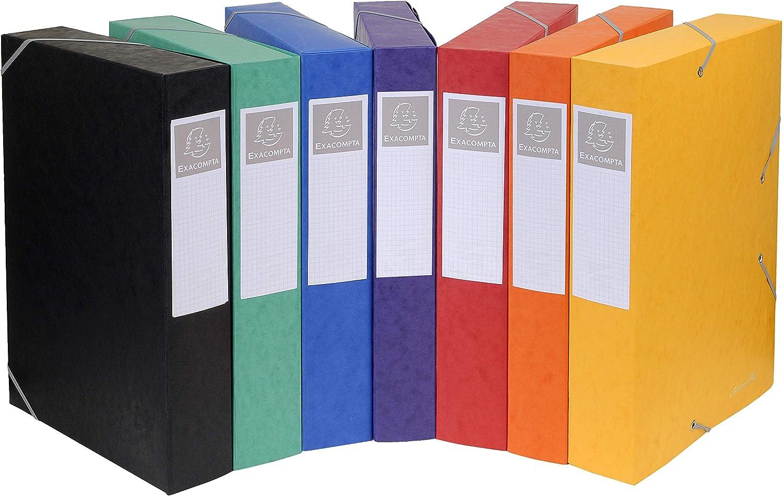 25 pezzi Boite de Classement Livree a Plat Cartobox Dos 25mm Carte Lustree Nature Future