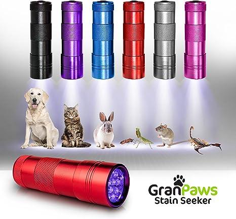 Amazon.com : MOOSENG Uv Black-Light Flashlight Pet Urine ...