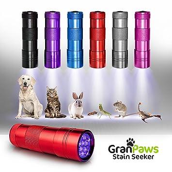 Linterna black-light UV Detector de Orina. LED ultraluminoso Finder de manchas de taladro