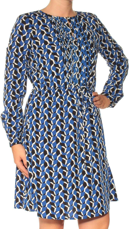 Tommy Hilfiger Womens Printed Shirt Dress