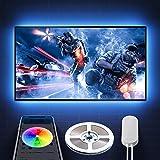 Govee TV LED Backlights, 6.56FT App Control TV Lights, 7 Scene Modes, DIY Mode LED Lights for TV, Easy Installation USB TV LE