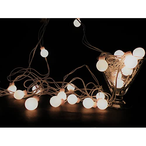 glimmer lightings made in india elegant small ball string lights diwali special home decoration gifts rice