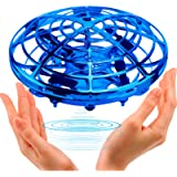 Samoleus Mini Drones for Kids, Hand Operated Drone Flying Ball, UFO Drone Infrared Induction with 360°Rotating and…