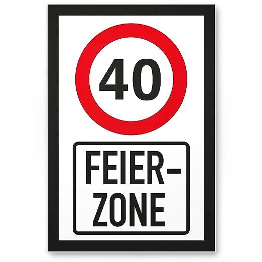 DankeDir!. Celebración 40 años Zona, plástico Cartel - 40 ...