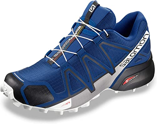 Salomon Speedcross Mens Trekking Shoes Blue, tamaño:42 2/3: Amazon.es: Zapatos y complementos