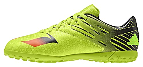 adidas Messi 15.4 TF J Boys Soccer Sneakers-Green-6