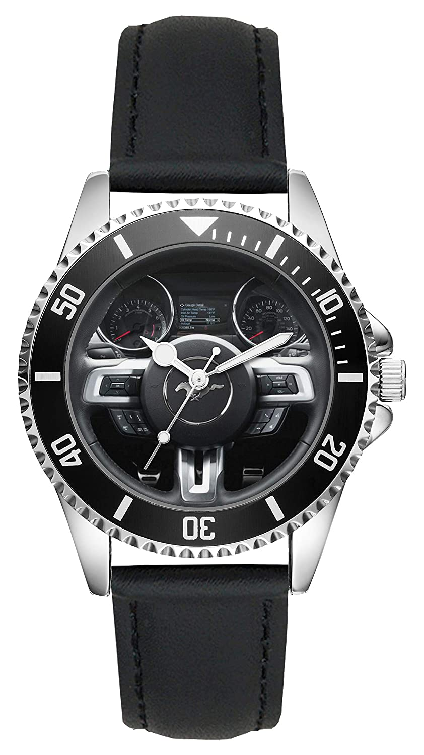 Amazon com gift for ford mustang fans driver kiesenberg watch l 20592 watches