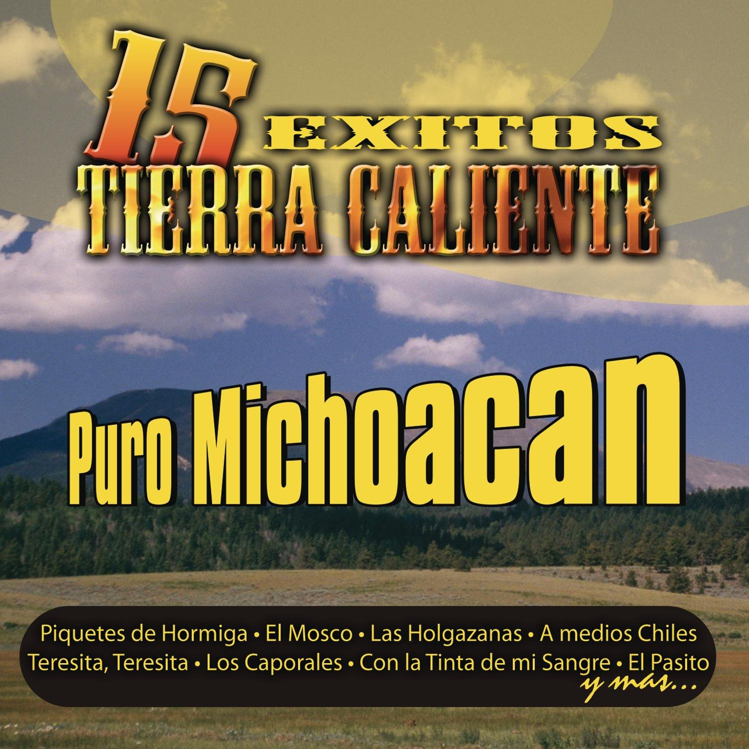 15 Exitos 2021 autumn and winter new En Tierra Manufacturer direct delivery Caliente Puro Michoacán