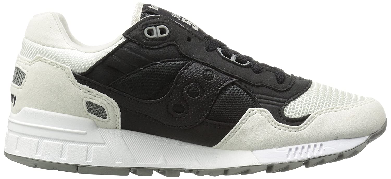 Saucony Originals Women's Shadow 5000 Fashion Sneaker B0189NK8T2 6.5 B(M) US|Black/White