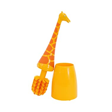Boston Warehouse Giraffe Toilet Brush, Animal House Collection
