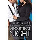 About That Night (An FBI/US Attorney Novel)