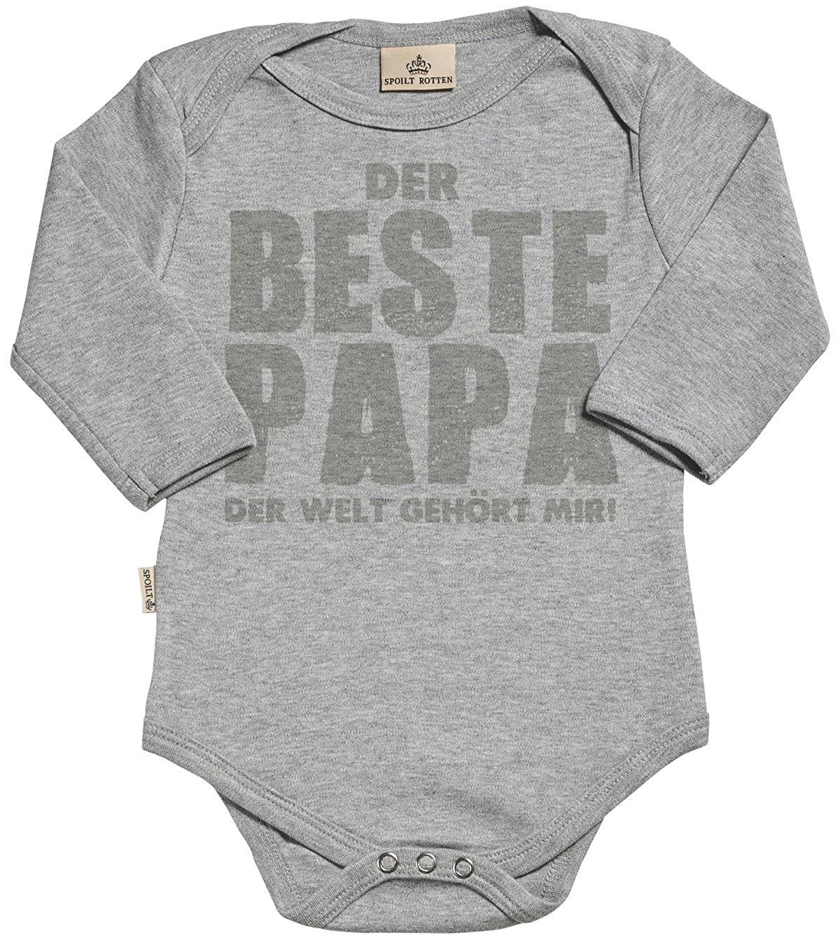 Baby Jungen Strampler Strampelanzug der Beste Papa der Welt geh/ört Mir Baby Strampler Baby M/ädchen Strampler