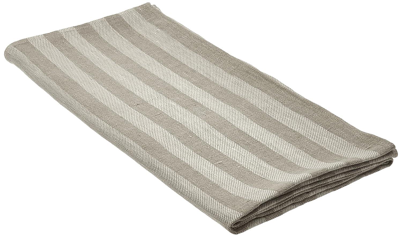 Amazon Com Natural Striped Huckaback Linen Bath Towel Lucas Home