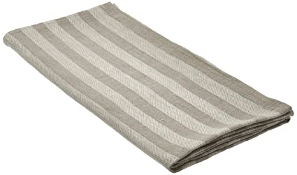 Amazon Com Linenme Lucas Linen Bath Towel 28 By 51 Natural