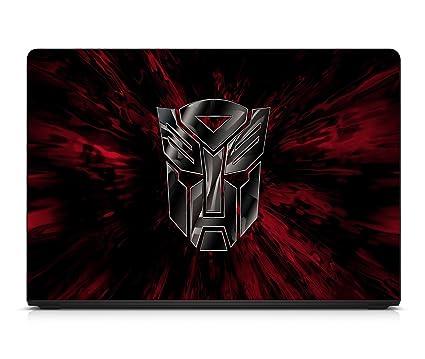 ramiya transformers autobots hd logo skin for laptop of 14 inch