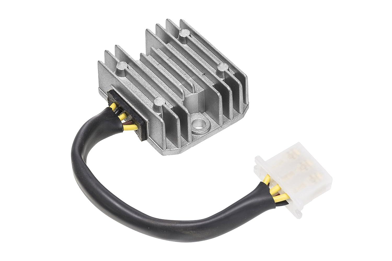 Voltage Regulator for Kawasaki EX EN Z KZ 250 450 500 750 1000 D2 Ninja Vulcan Eliminator Spectre OEM Repl. # 21066-1030 - DZE 2068