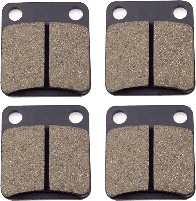 NEW FRONT BRAKE PAD SET 2008 YAMAHA YFM350FGH GRIZZLY 350 4WD HUNTER CAMO HD 08