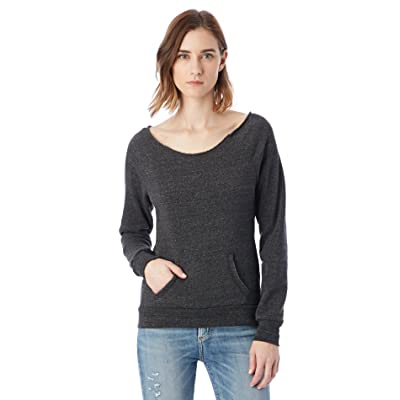 Alternative Women's Maniac Eco Fleece Sweatshirt at Amazon Women's Clothing store