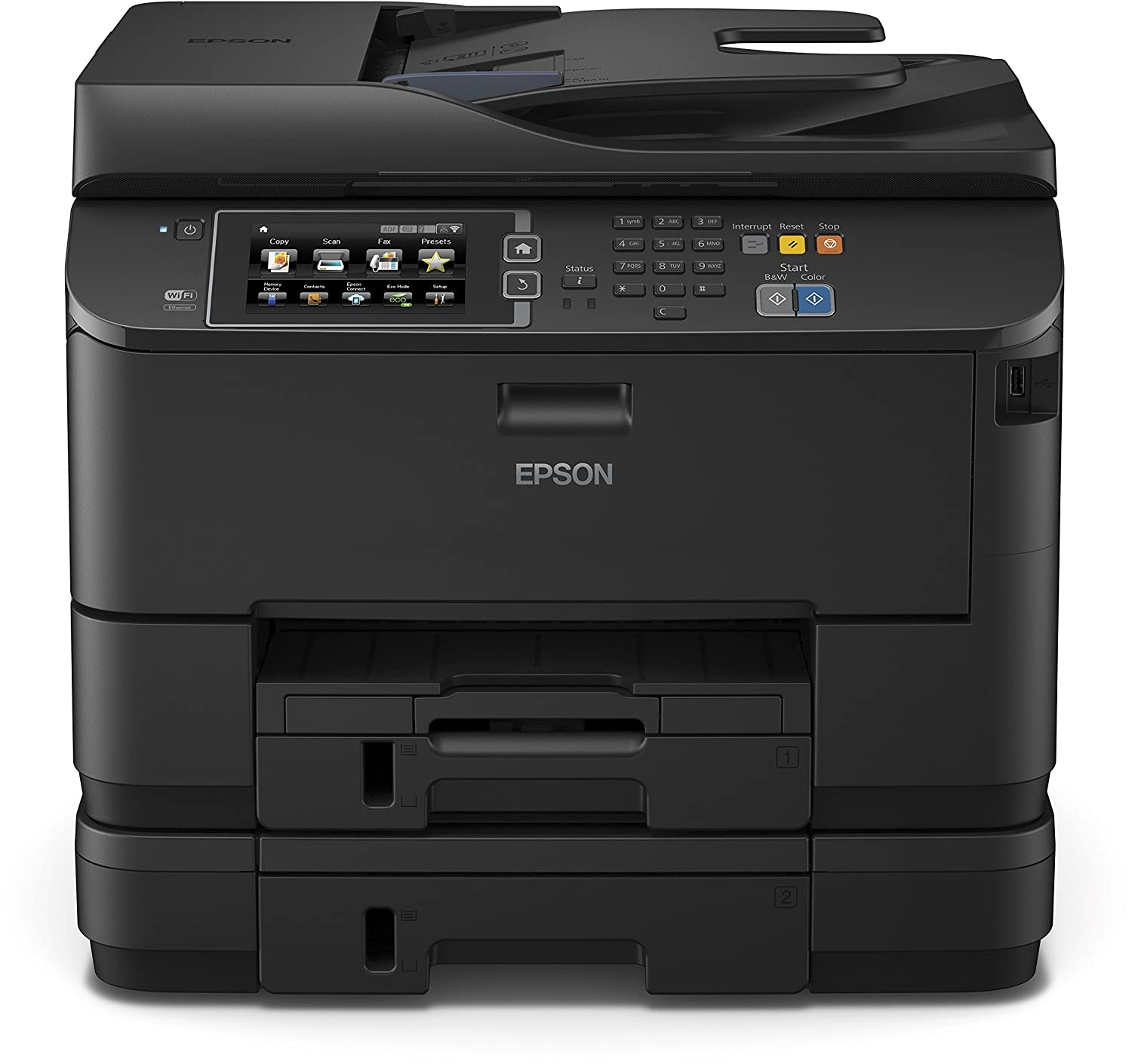 Epson WorkForce Pro WF DTWF Impresora multifunción de tinta tecnología PrecisionCore color