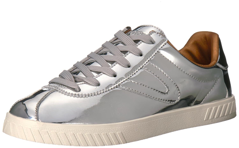 Tretorn Women's Camden2 Sneaker B071RTC92K 8.5 B(M) US|Silver