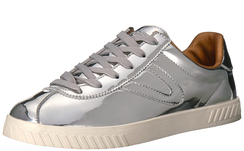 Tretorn Women's Camden2 Sneaker B071VDXQXR 10.5 B(M) US|Silver