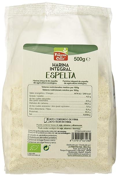 Harina integral de espelta - La Finestra sul Cielo - caja de ...
