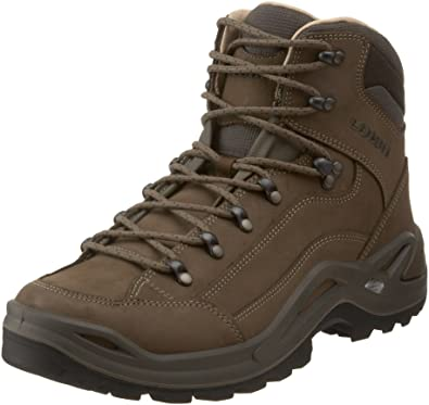 Lowa Men's Renegade II Leather-Lined Mid Hiking Boot,Stone,8.5 ...