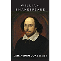 William Shakespeare (41 books) - WITH AUDIOBOOKS INSIDE: Hamlet, Romeo and Juliet, The Merchant of Venice, Macbeth, A…