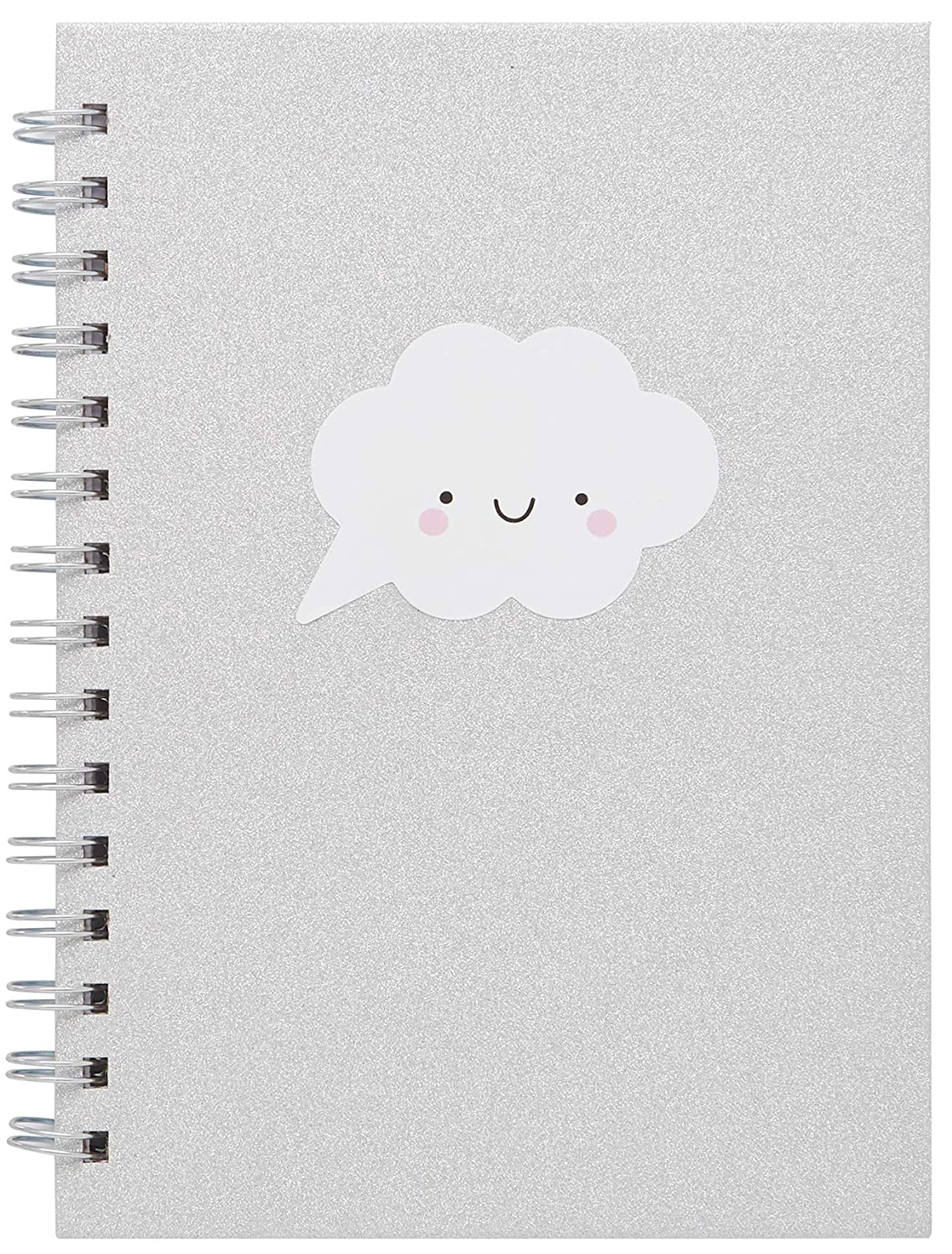 Laurdiy Sparkle Kawaii Collection Cute Notebooks For School 160 Ruled Pages