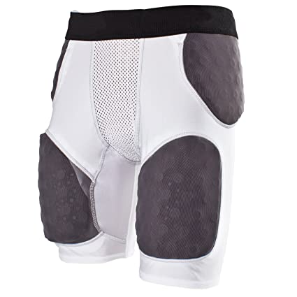f1dad5144ec Amazon.com   Cramer Thunder 5 Pad Football Girdle With Integrated ...