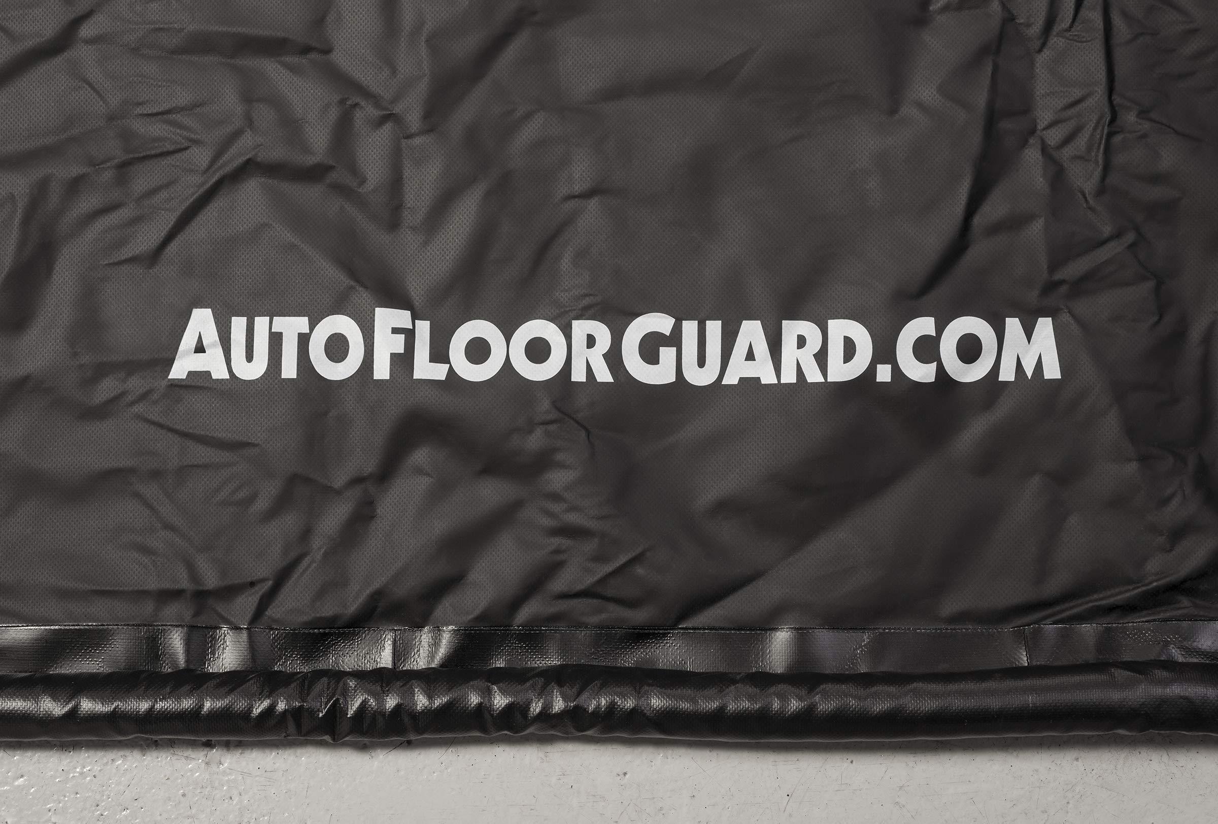 AutoFloorGuard AFGS-7916 Black 7'9'' x 16' AFG Compact Size Containment mat by AutoFloorGuard (Image #1)