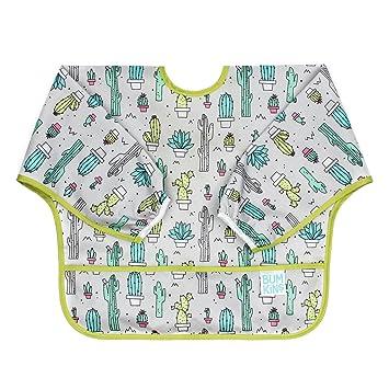 Amazon.com: Bumkins Waterproof Sleeved Bib, Cacti (6-24 Months): Baby