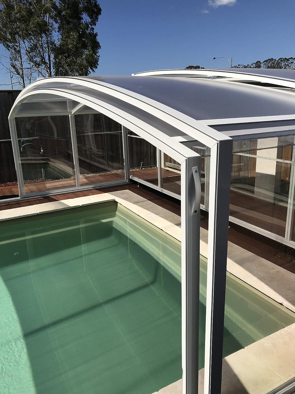 ClearYup Carcasa para piscina, tapas de protección para piscinas ...