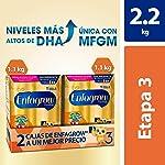 Leche de Crecimiento para Niños mayores de 12 Meses, Enfagrow Premium Etapa 3, En Polvo Paquete especial con 2 cajas de...