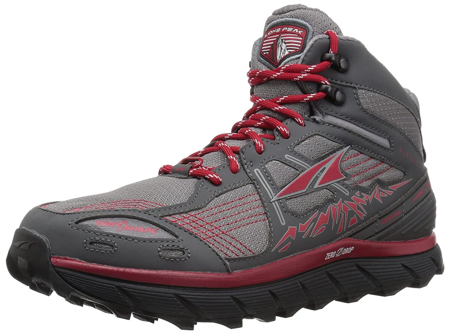 big sale ce454 a4b05 Altra Men's Lone Peak 3.5 Mid Mesh Athletic Shoe