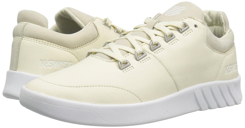 K-Swiss Women's Aero Trainer Sneaker B01N5UVWGY 6.5 M US|Vanilla Ice/White
