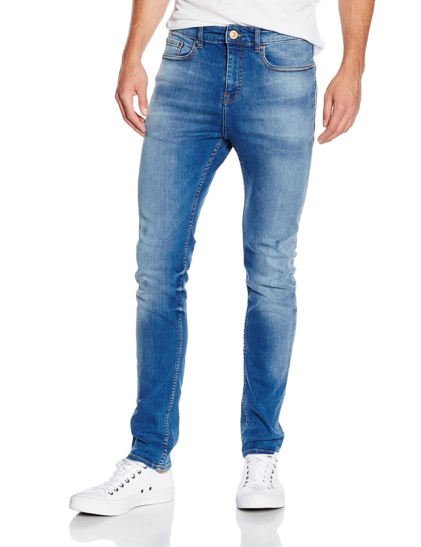 TALLA W30 (Talla del fabricante: 30 Short). New Look Arnold Skinny, Azul para Hombre