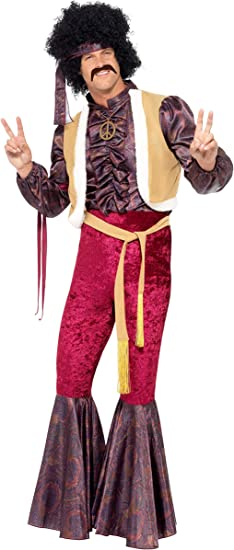 /Costume Rock anni /'70/a zampa d/'elefante Smiffys/
