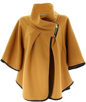 Manteau cape femme c&a