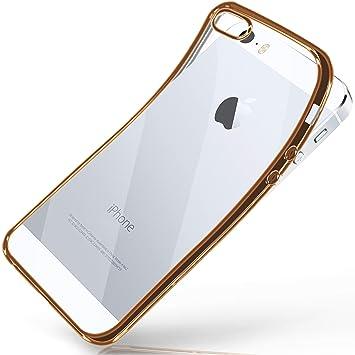 Moex Apple Iphone 5s Hülle Silikon Transparent Amazonde Elektronik