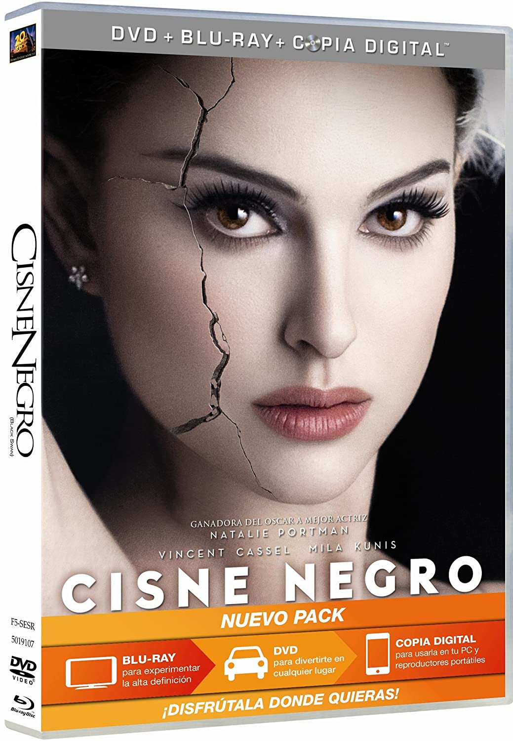 Amazon.com: Cisne Negro (Dvd + Br + Copia Digital) [Blu-Ray ...