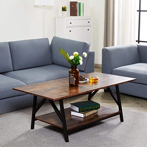 Deal of the week: CO-Z 47″ Industrial Coffee Table