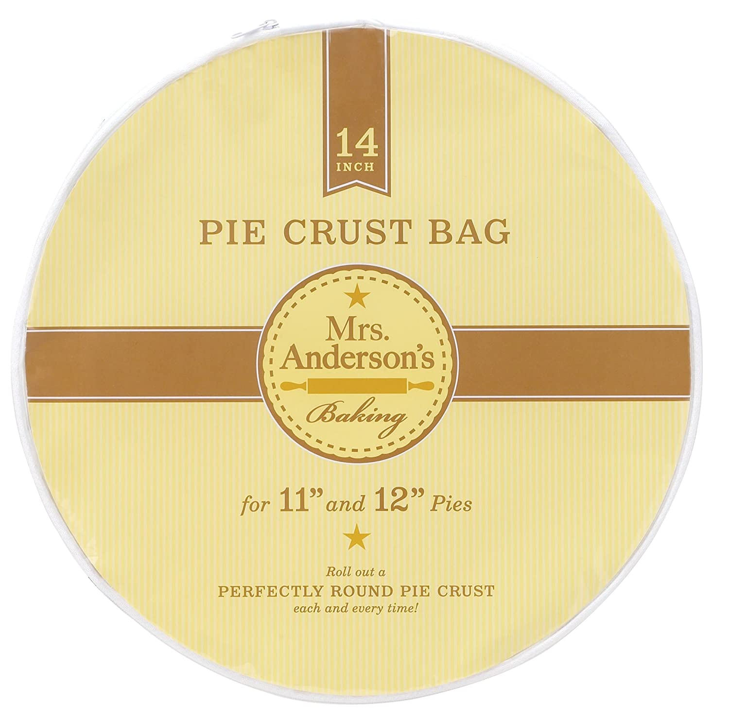 Mrs. Anderson's Baking Easy No-Mess Pie Crust Maker Bag, 11-Inches Mrs. Anderson's Baking 7406
