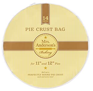 Mrs. Anderson's Baking Easy No-Mess Pie Crust Maker Bag, 14-Inches