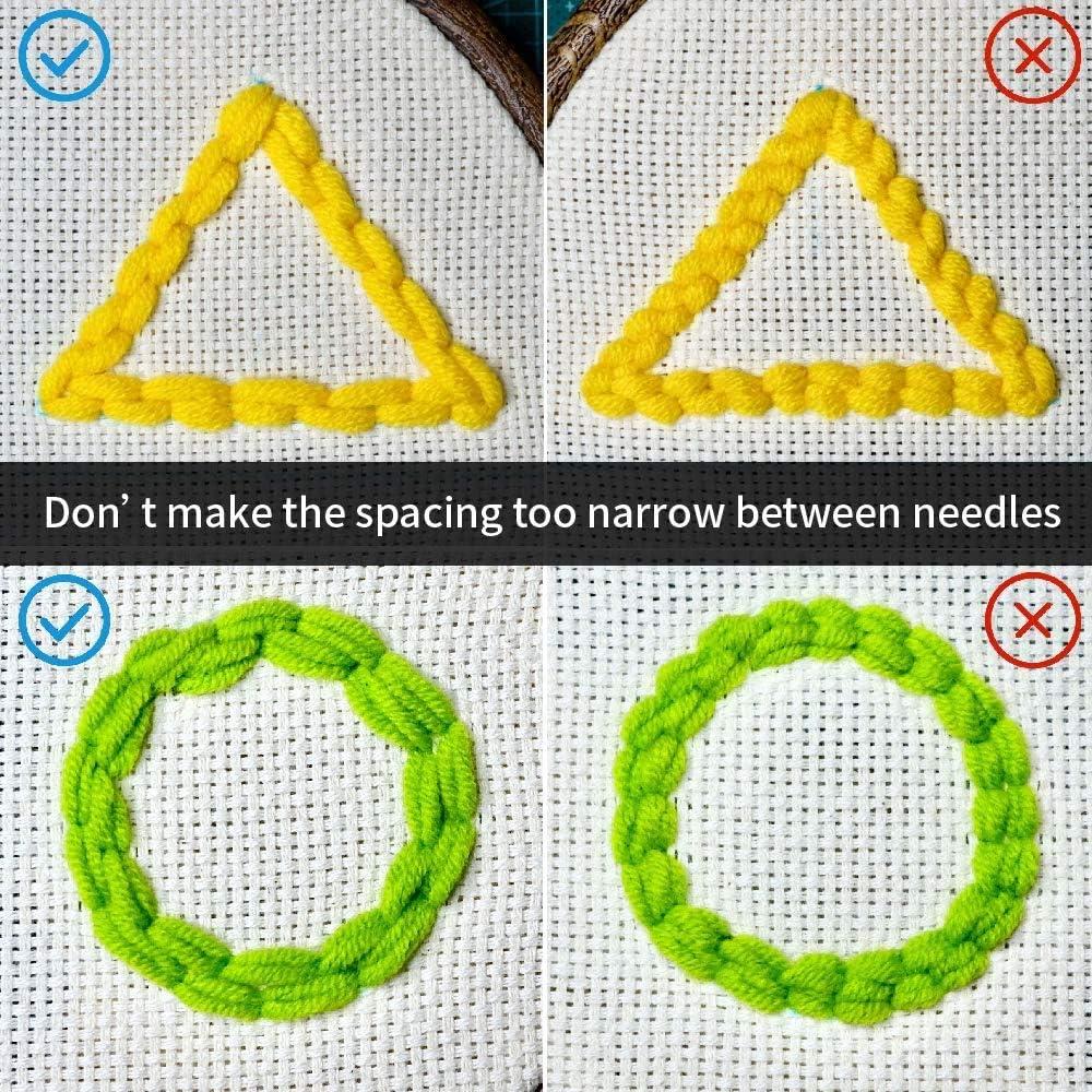 Punch Needle Embroidery Starter Kits Latch Hook Kits Rug Hooking Knitting Beginner Yarn Pattern Preprinted DIY Unicorn