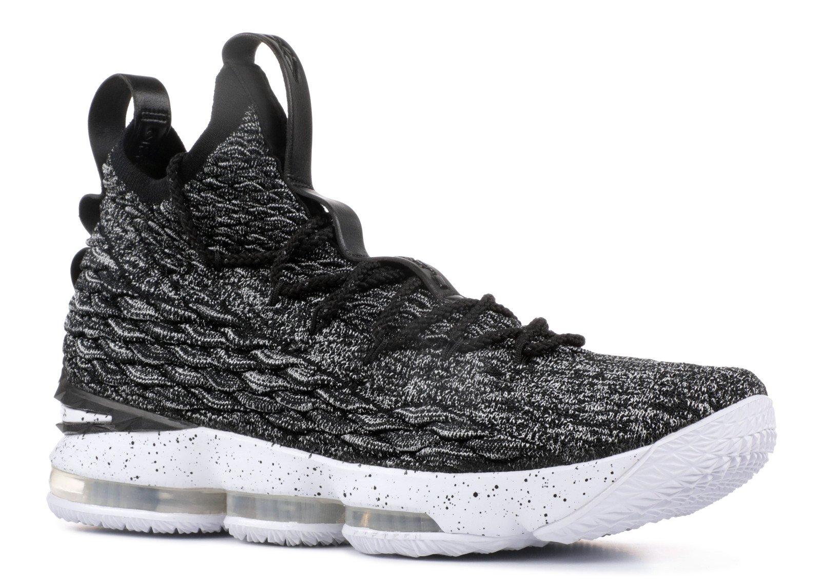 88e8ffd7c71 Nike Lebron XV Ashes basketball shoes lebron james black white-white NEW  897648-