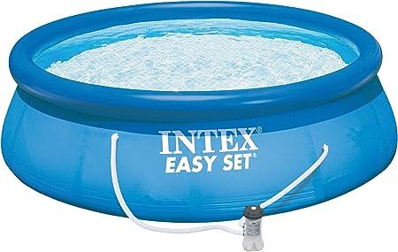 Amazon.com: Intex Easy Set piscina Set, 15-Feet by 42-inch ...